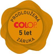 prodloužená záruka 5 let na razítka COLOP || obchodRAZITEK.cz