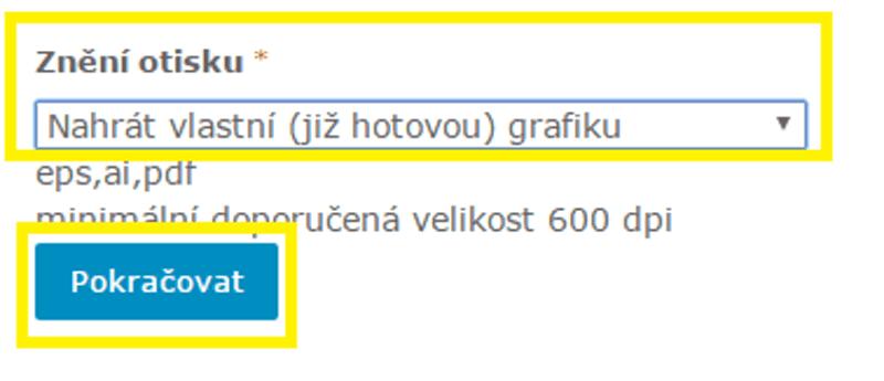 nahrát již předpřipravenou grafickou podobu otisku razítka|| ObchodRAZITEK.cz
