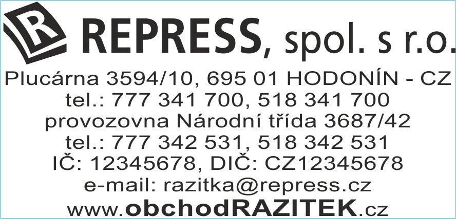 Velikosti 30x69 mm - vzor 3|| obchodRAZITEK.cz