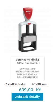 robustní profesionální razítko Office S 300 || obchodRAZITEK.cz