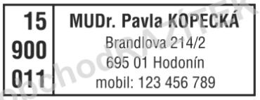 razítko pro lékaře || obchodRAZITEK.cz