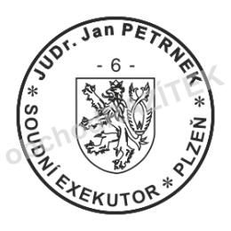 Kulaté razítka pro exekutory - ø 20mm || obchodRAZITEK.cz