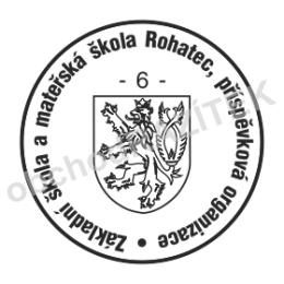 Kulaté razítka pro školy - ø 20mm || obchodRAZITEK.cz