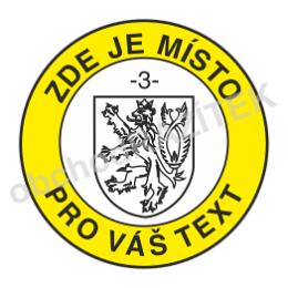 úředni razítko se státním znakem 20 mm