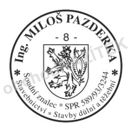 Kulaté razítka pro soudní znalce - ø 20mm || obchodRAZITEK.cz