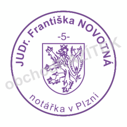 Kulaté razítka pro notáře - ø 25mm || obchodRAZITEK.cz