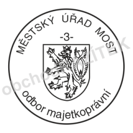 Kulaté razítka pro obce - ø 25mm || obchodRAZITEK.cz
