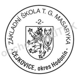 Kulaté razítka pro školy - ø 25mm || obchodRAZITEK.cz