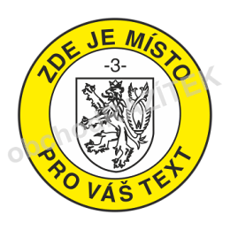 úředni razítko se státním znakem 25 mm || obchodRAZITEK.cz