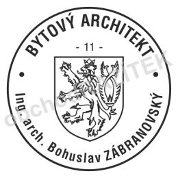 Kulaté razítka pro architekty - ø 36mm || obchodRAZITEK.cz