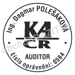 Kulaté razítka pro auditory || obchodRAZITEK.cz