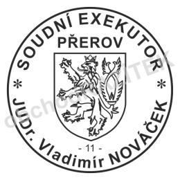Kulaté razítka pro exekutoryy || obchodRAZITEK.cz