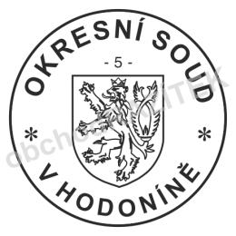 Kulaté razítka pro soudy - ø 36mm || obchodRAZITEK.cz