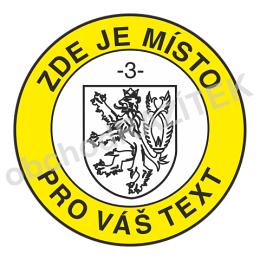 úřední razítko se státním znakem 36 mm || obchodRAZITEK.cz