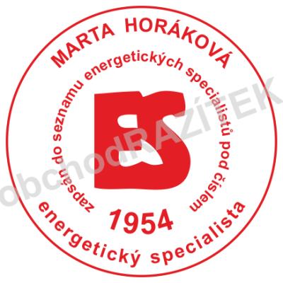 Kulaté razítka pro energetické specialisty || obchodRAZITEK.cz
